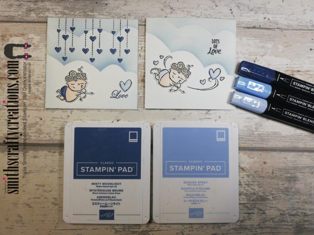 flight of fancy handmade card Stampin' Up! UK
