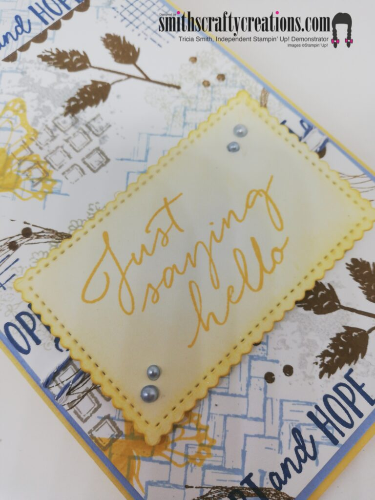 Stamp your own DSP One Sheet Wonder idea Shop Stampin' Up! UK